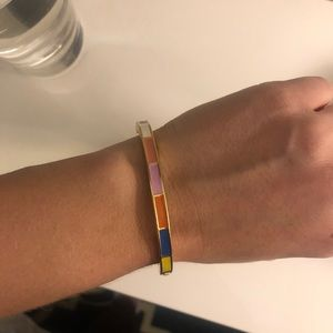 J.Crew Rainbow Block Bangle